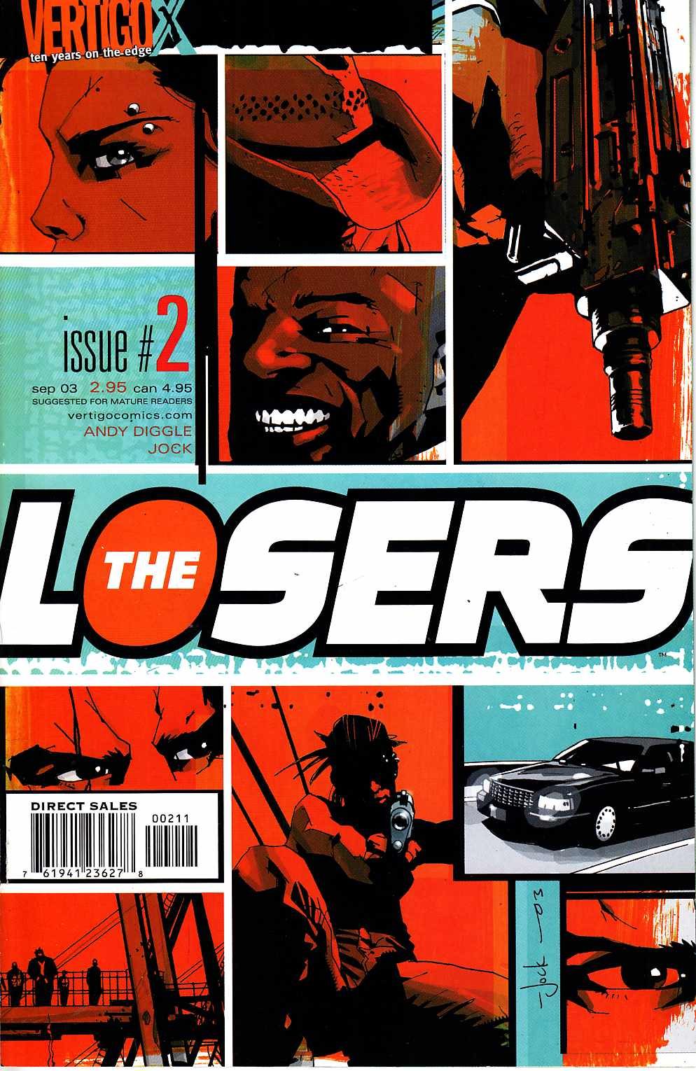 Losers #2 [DC Comic] LARGE