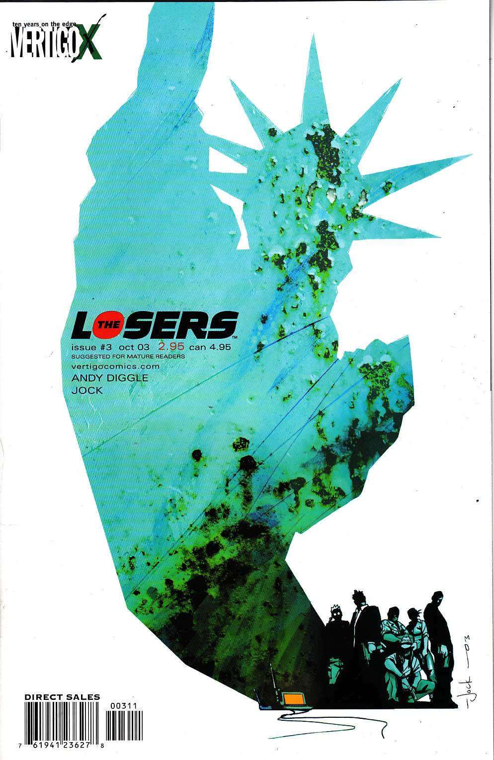 Losers #3 [DC Comic] LARGE