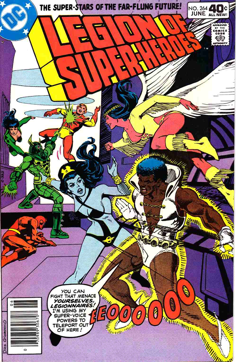 Legion Of Super-Heroes #264 Very Fine (8.0) [DC Comic] THUMBNAIL