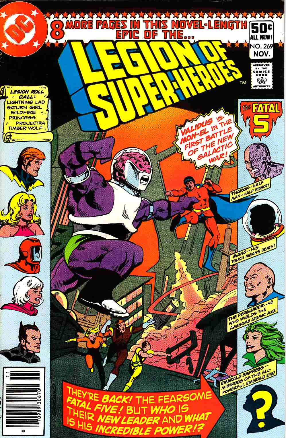 Legion Of Super-Heroes #269 [DC Comic] LARGE