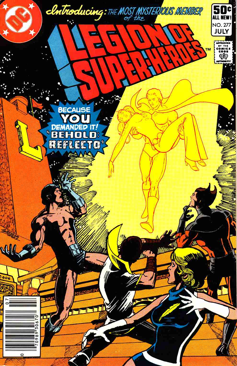 Legion of Super-Heroes #277 Newsstand Edition Very Fine (8.0) [DC Comic] THUMBNAIL