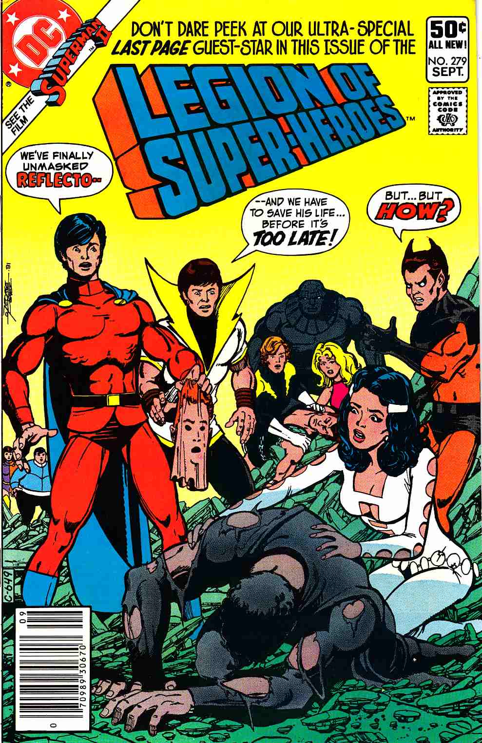Legion of Super-Heroes #279 Newsstand Edition Very Fine (8.0) [DC Comic] THUMBNAIL