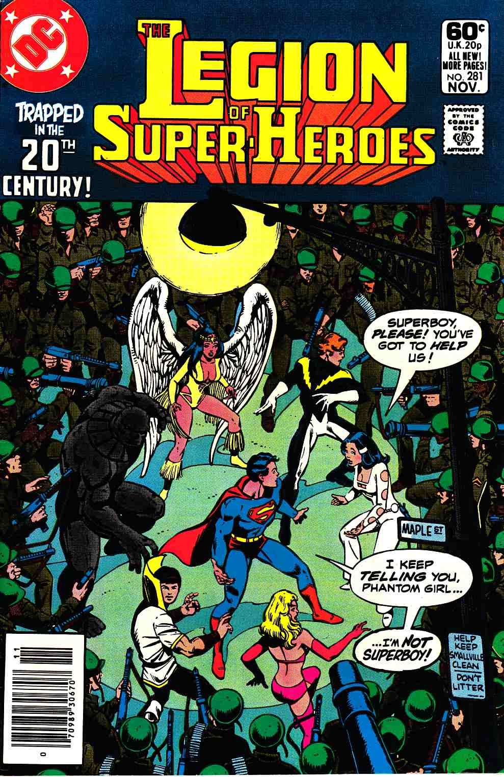 Legion of Super-Heroes #281 Newsstand Edition Very Fine (8.0) [DC Comic] THUMBNAIL