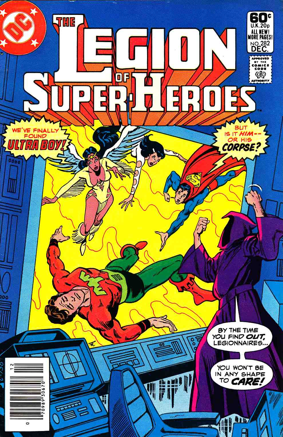 Legion of Super-Heroes #282 Newsstand Edition Very Fine Minus (7.5) [DC Comic] THUMBNAIL