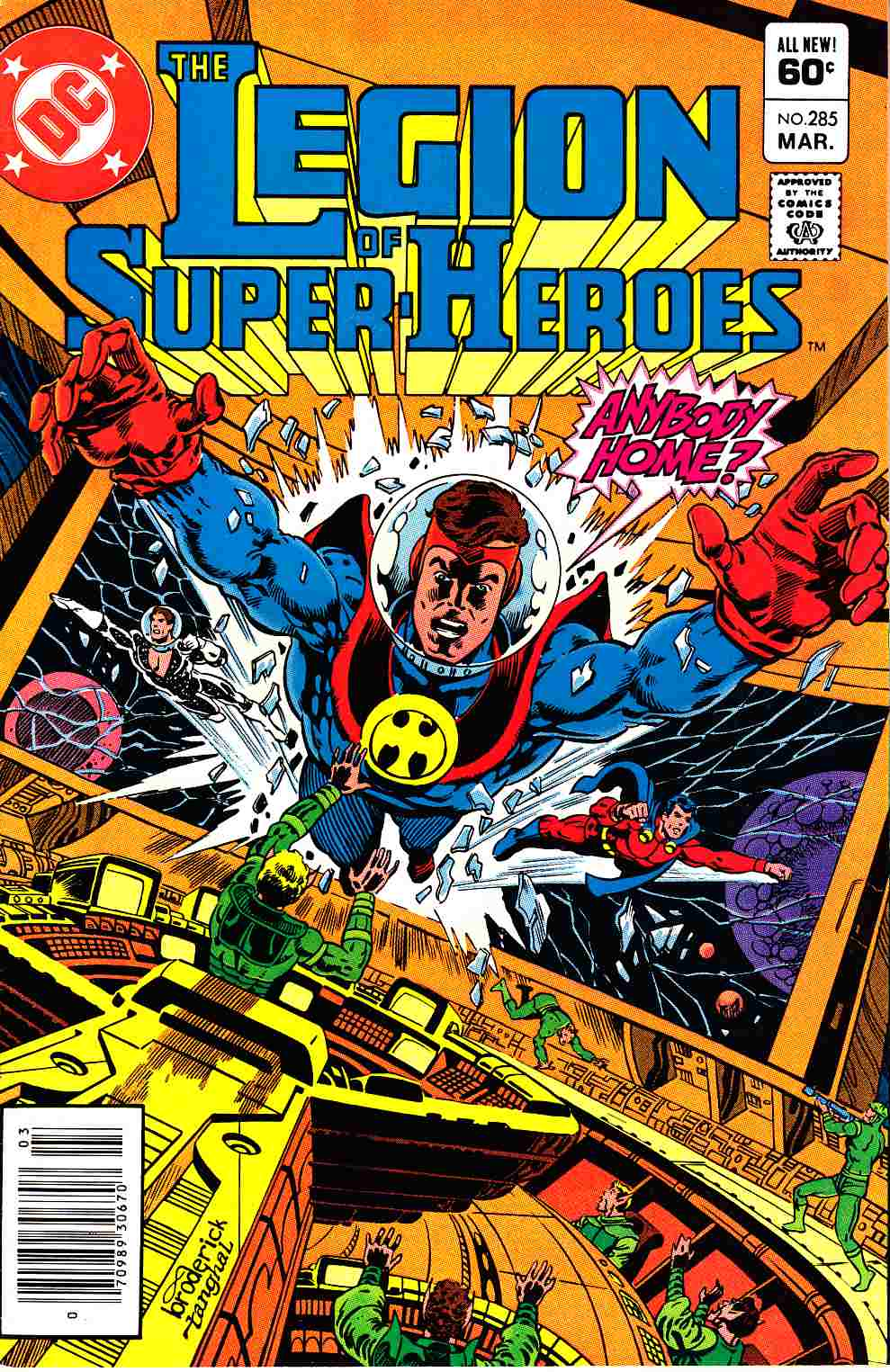 Legion of Super-Heroes #285 Newsstand Edition Very Fine/Near Mint (9.0) [DC Comic] THUMBNAIL