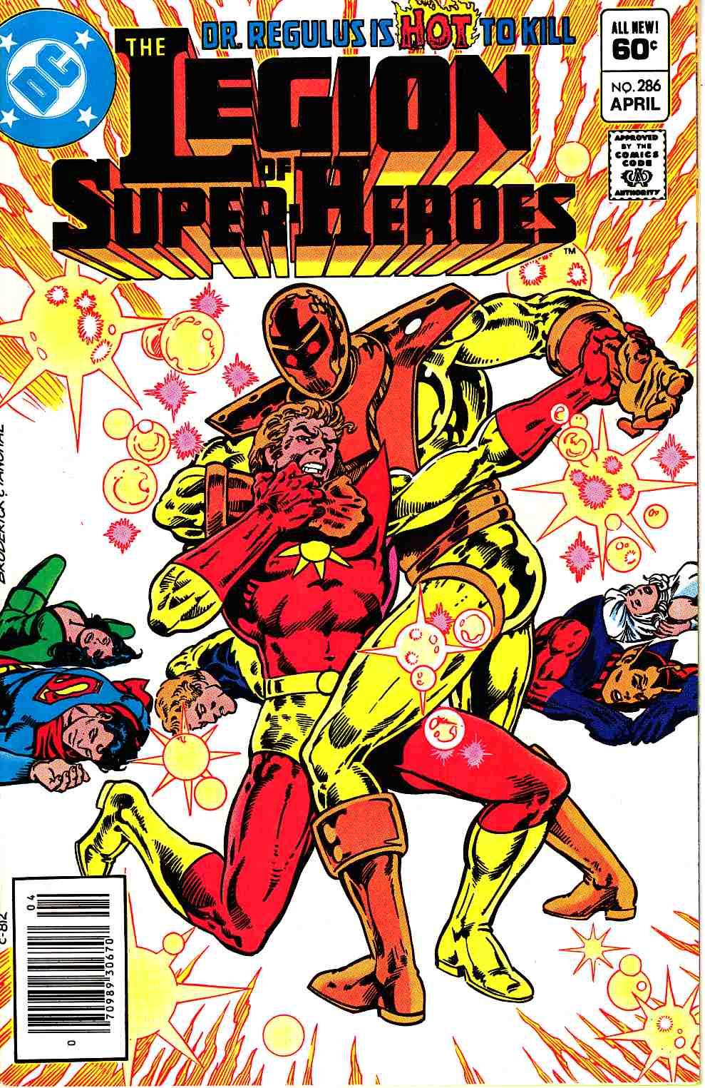 Legion of Super-Heroes #286 Newsstand Edition Near Mint (9.4) [DC Comic] THUMBNAIL