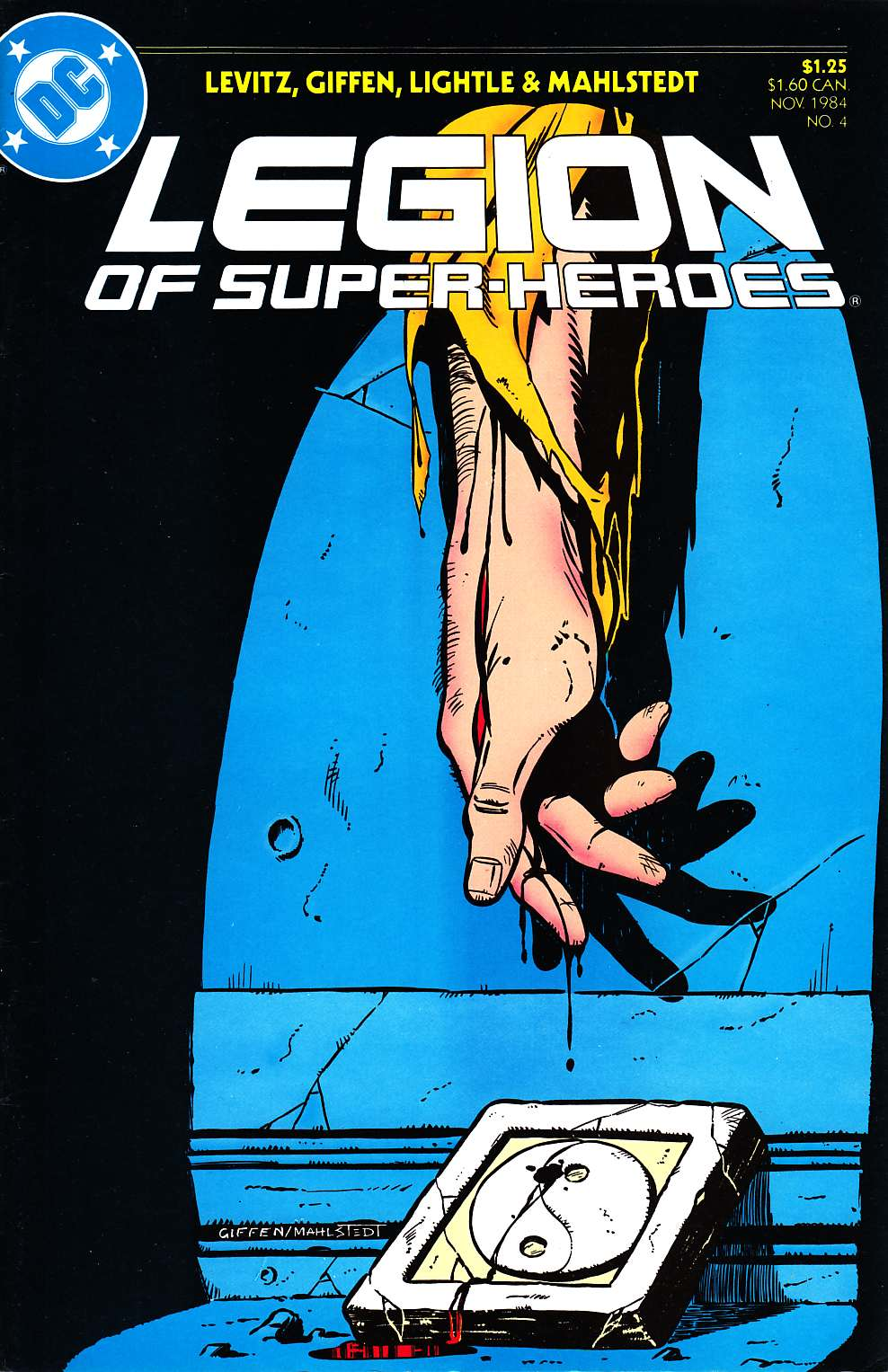 Legion Of Super-Heroes #4 [DC Comic]_THUMBNAIL