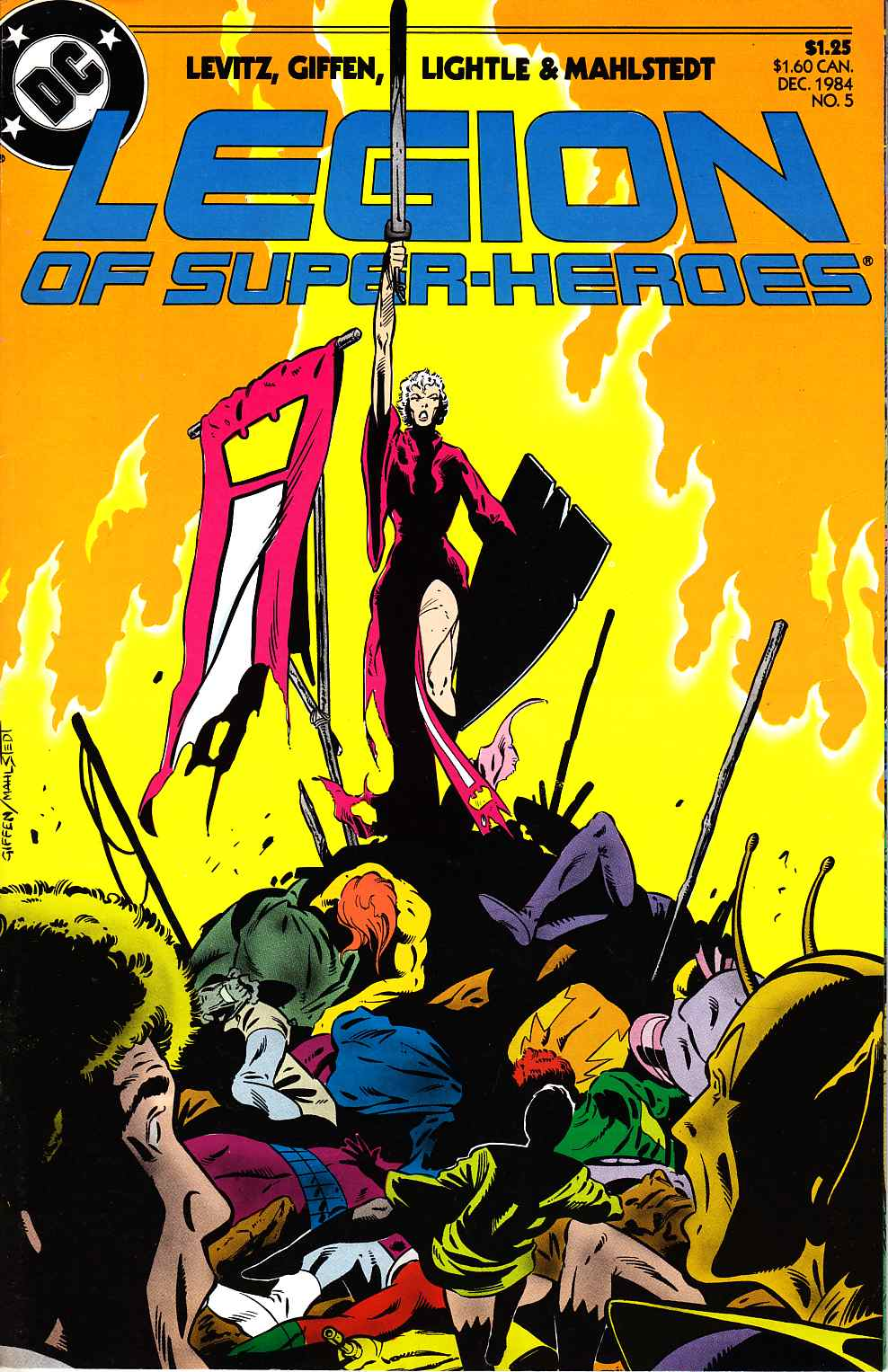Legion Of Super-Heroes #5 [DC Comic]_THUMBNAIL