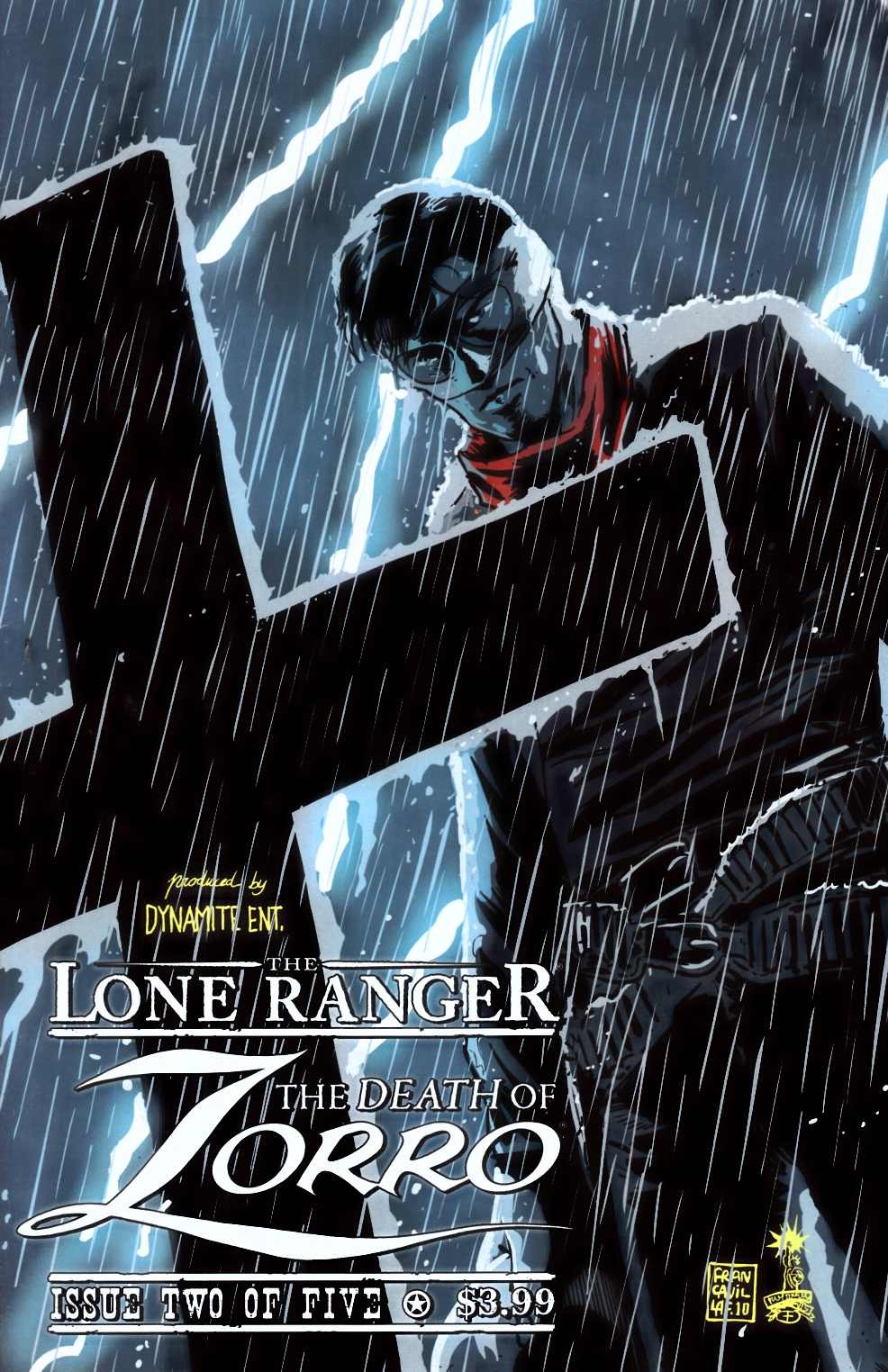 Lone Ranger Death of Zorro #2 Very Fine (8.0) [Dynamite Comic] THUMBNAIL