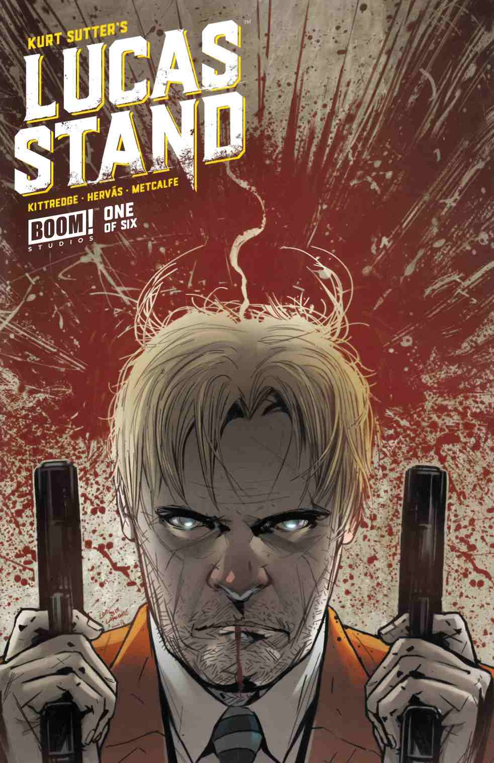 Lucas Stand #1 Second Printing [Boom Comic] THUMBNAIL