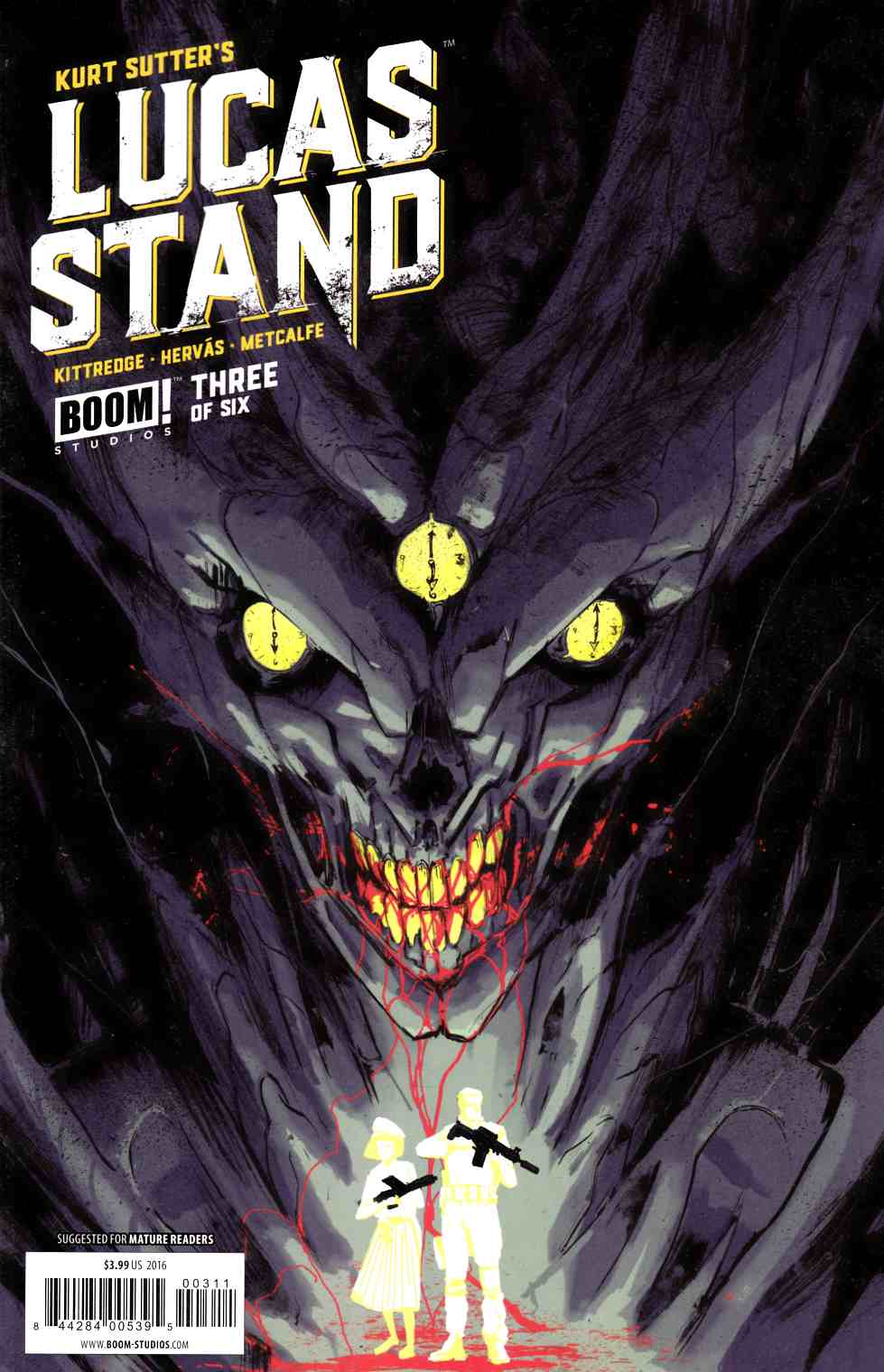 Lucas Stand #3 [Boom Comic] LARGE