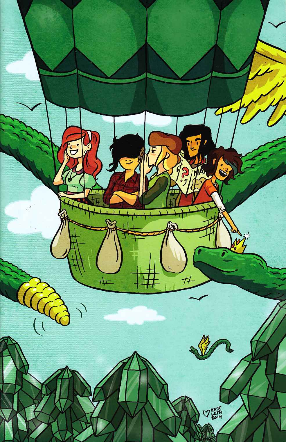 Lumberjanes #1 Emerald City Comic-Con Exclusive Cover Near Mint (9.4) [Boom Comic] LARGE