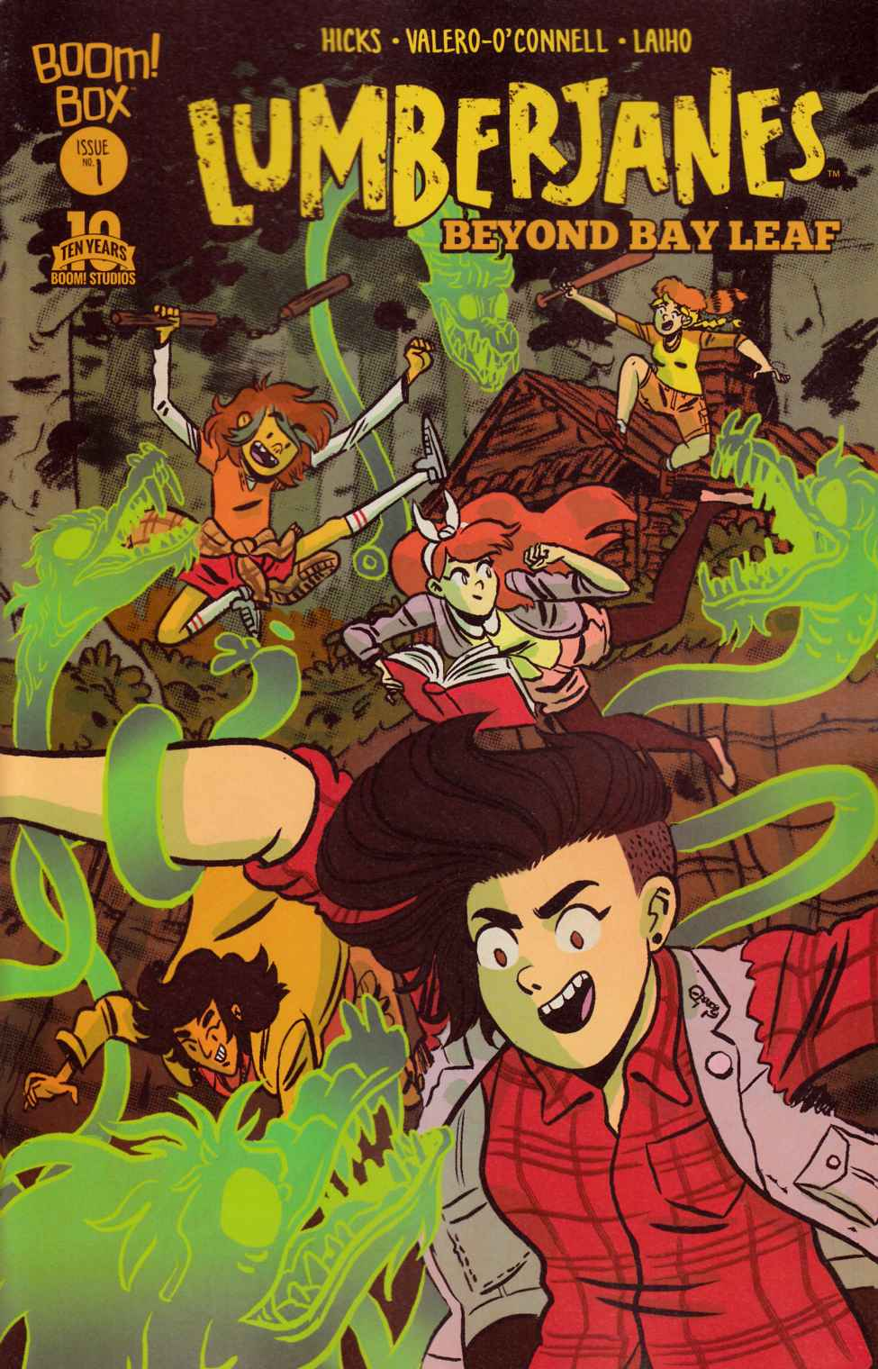 Lumberjanes Beyond Bay Leaf #1 [Boom Comic] THUMBNAIL
