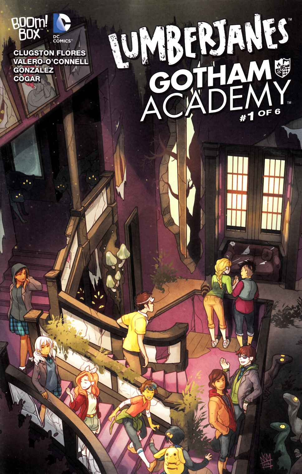 Lumberjanes Gotham Academy #1 Subscription Connecting Cover [Boom Comic] THUMBNAIL
