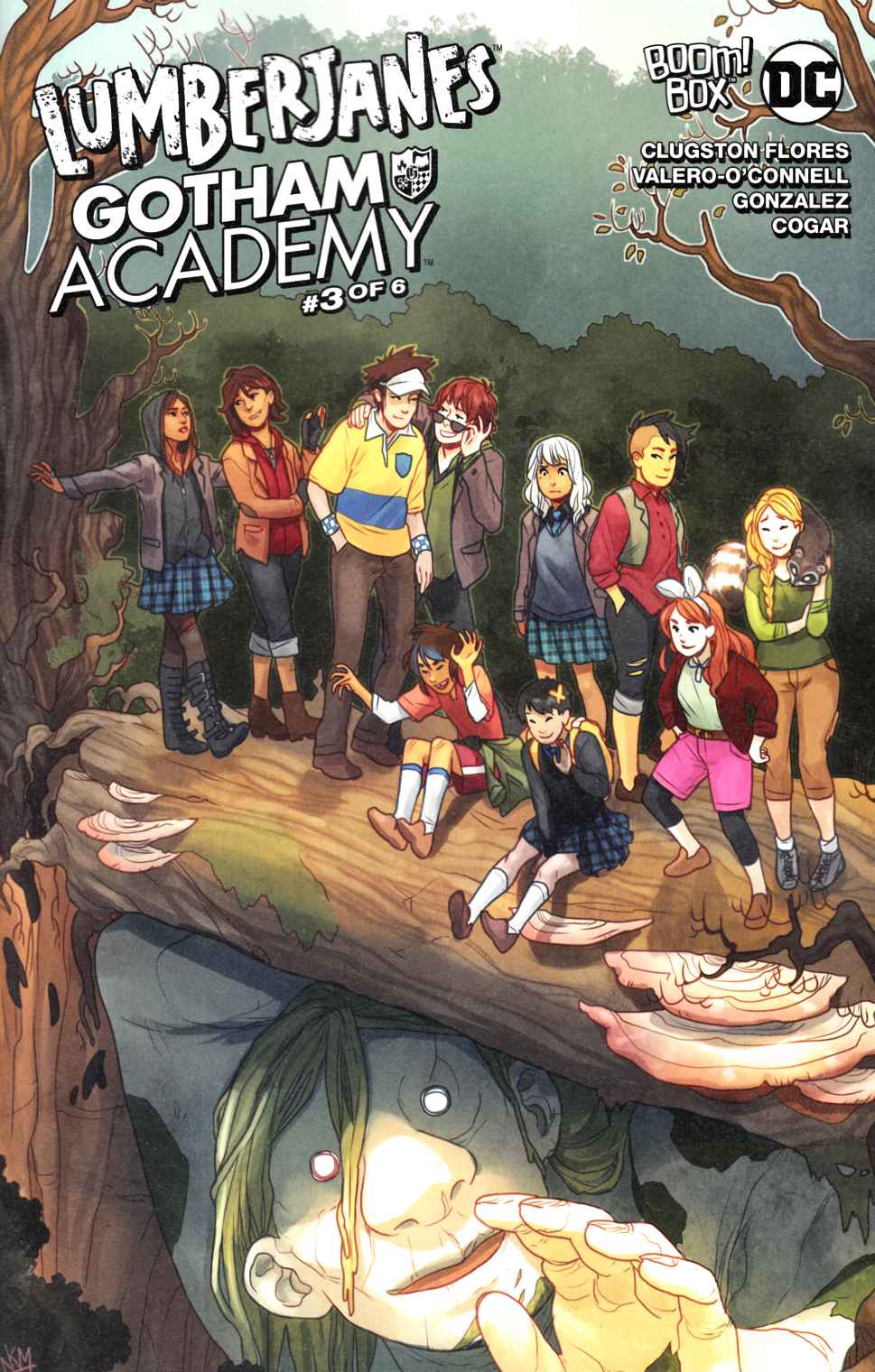 Lumberjanes Gotham Academy #3 Subscription Cover [Boom Comic] THUMBNAIL