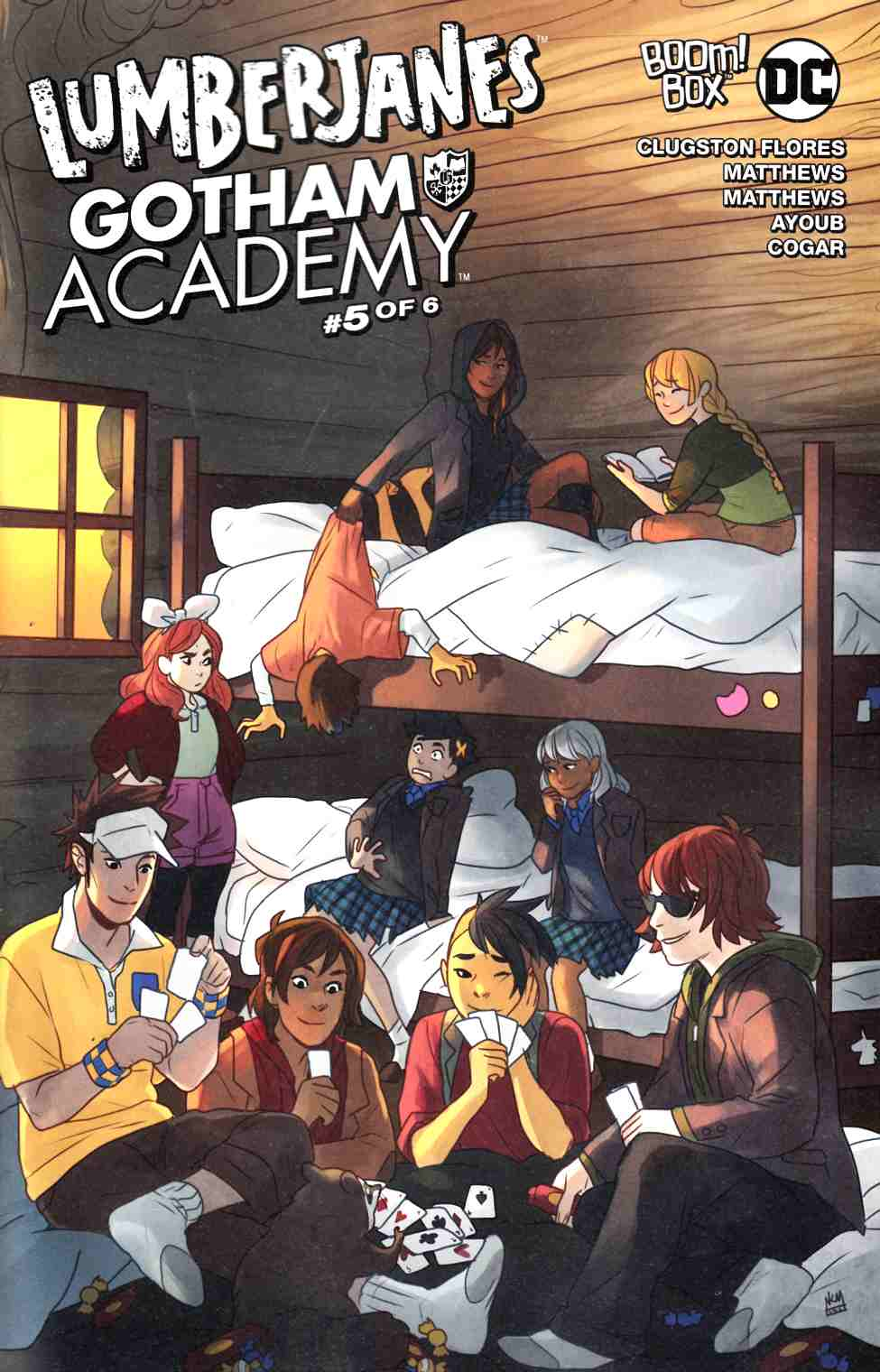 Lumberjanes Gotham Academy #5 Subscription Cover [Boom Comic] THUMBNAIL