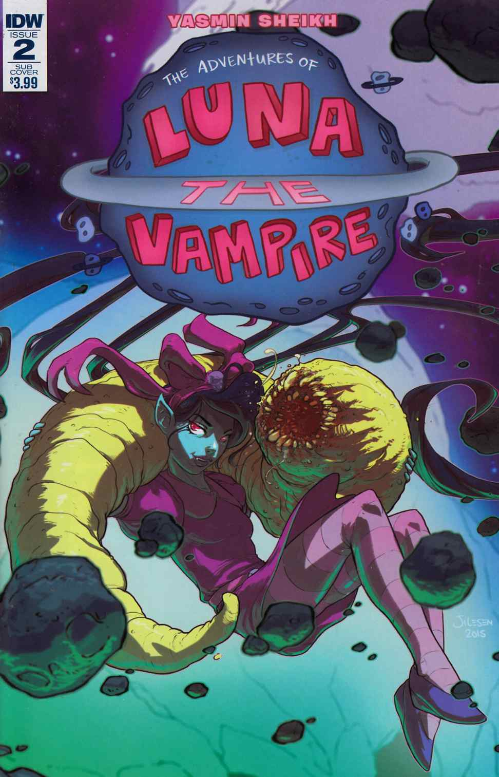 Luna the Vampire #2 Subscription Cover [IDW Comic] THUMBNAIL