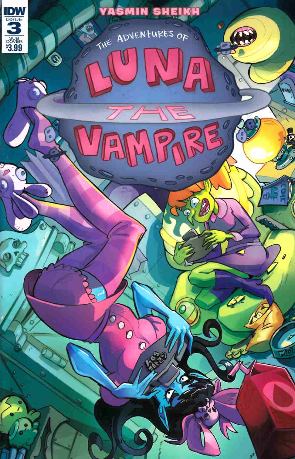 Luna the Vampire #3 Subscription Cover [IDW Comic] THUMBNAIL