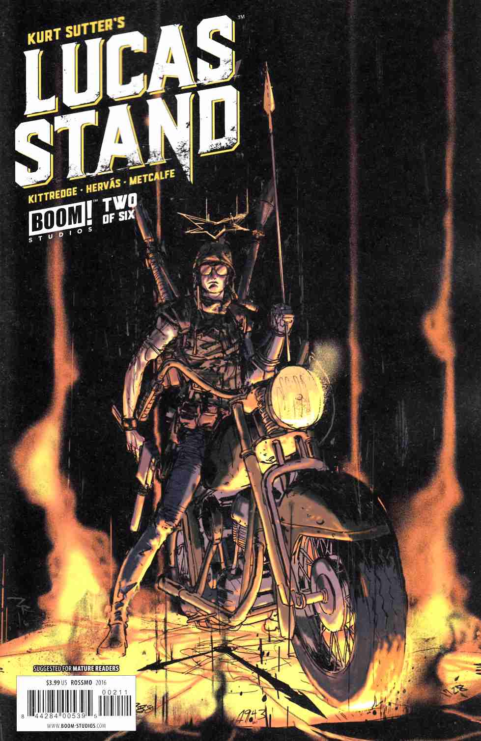 Lucas Stand #2 [Boom Comic] LARGE