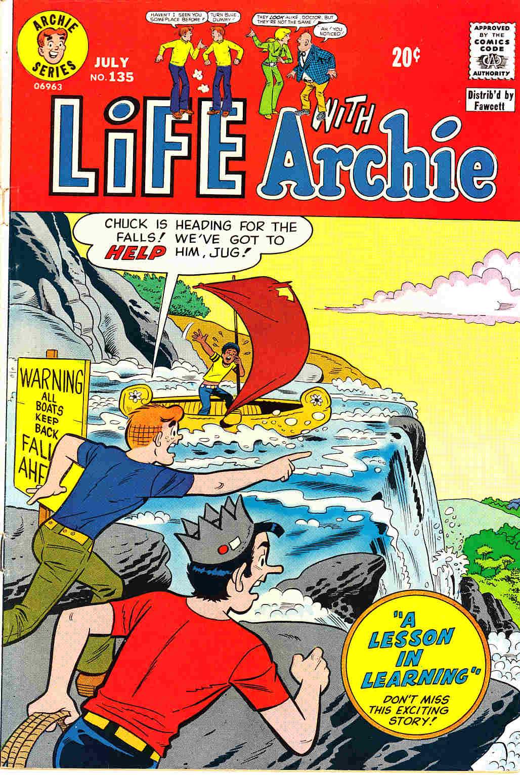 Life With Archie #135 [Archie Comic] THUMBNAIL