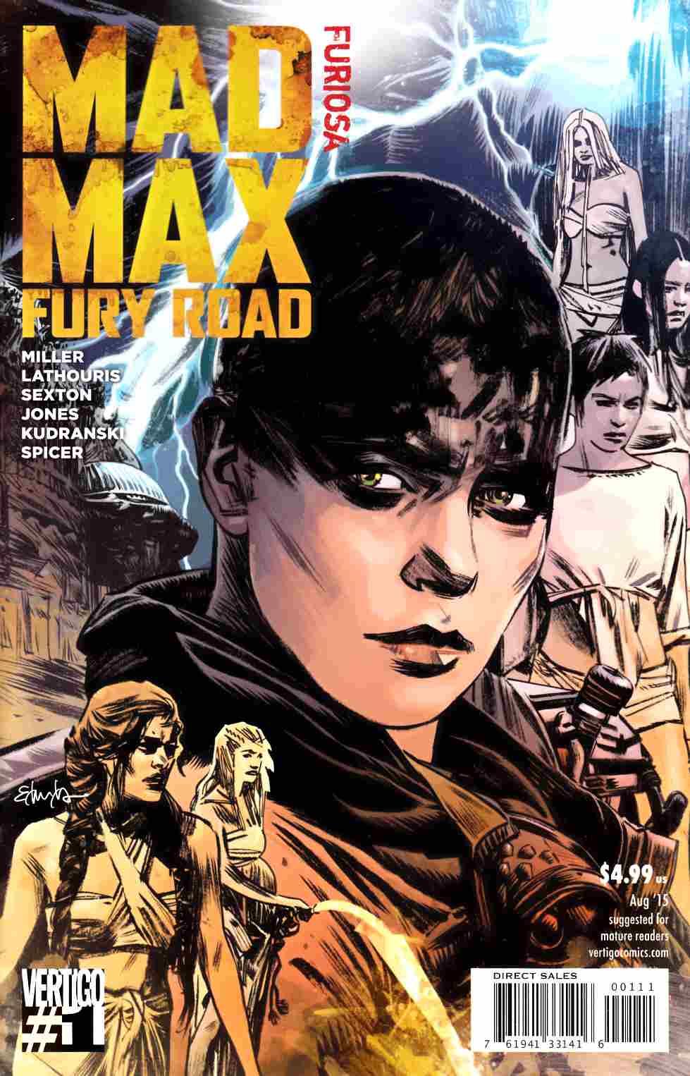 mad max fury road furiosa 1 dc comic dreamlandcomics com online