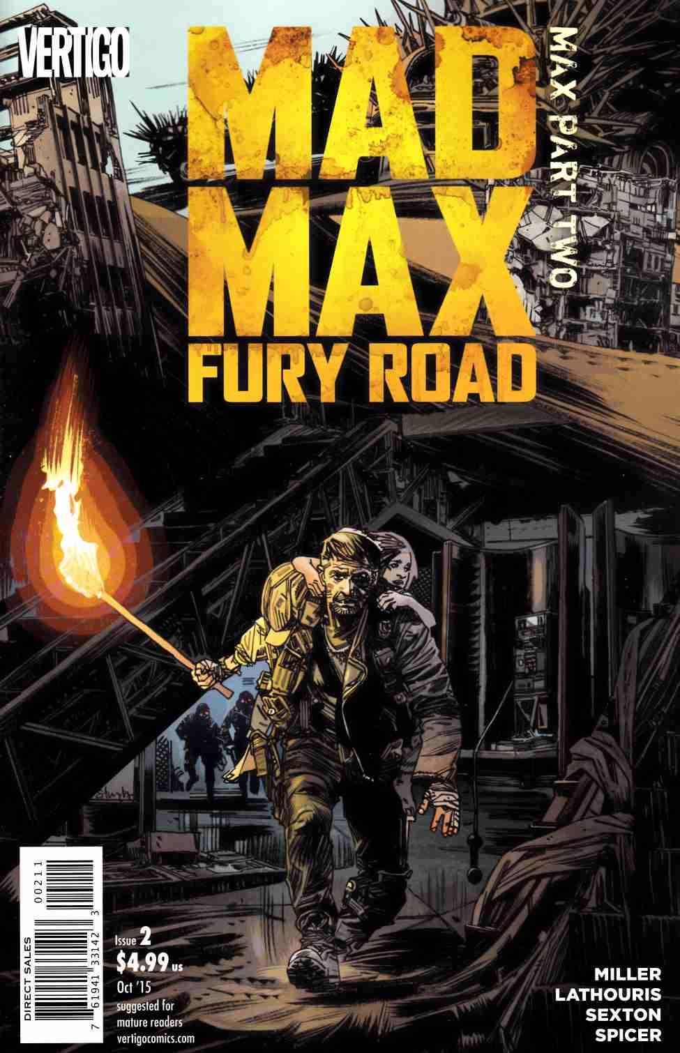 mad max fury road mad max 2 dc comic dreamlandcomics com online