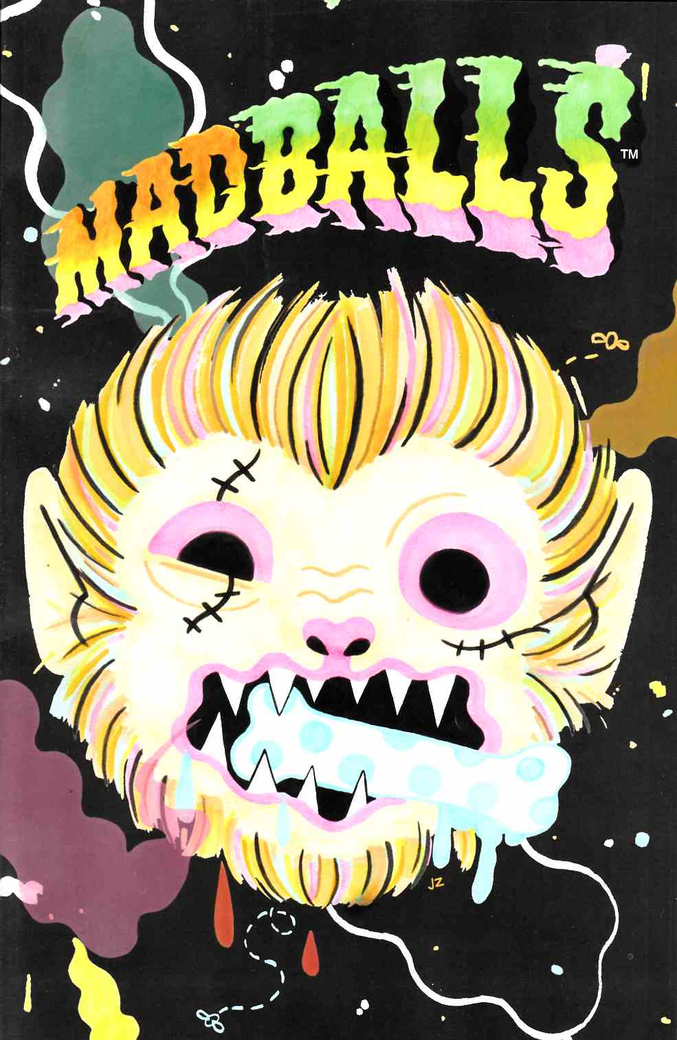 Madballs #3 Zych Variant Cover [Lion Forge Comic] THUMBNAIL