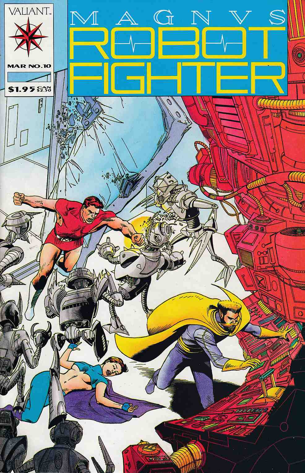 Magnus Robot Fighter #10 Near Mint (9.4) [Valiant Comic] THUMBNAIL