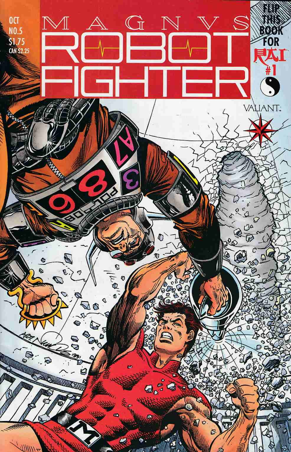 Magnus Robot Fighter #5 Very Good (4.0) [Valiant Comic] THUMBNAIL