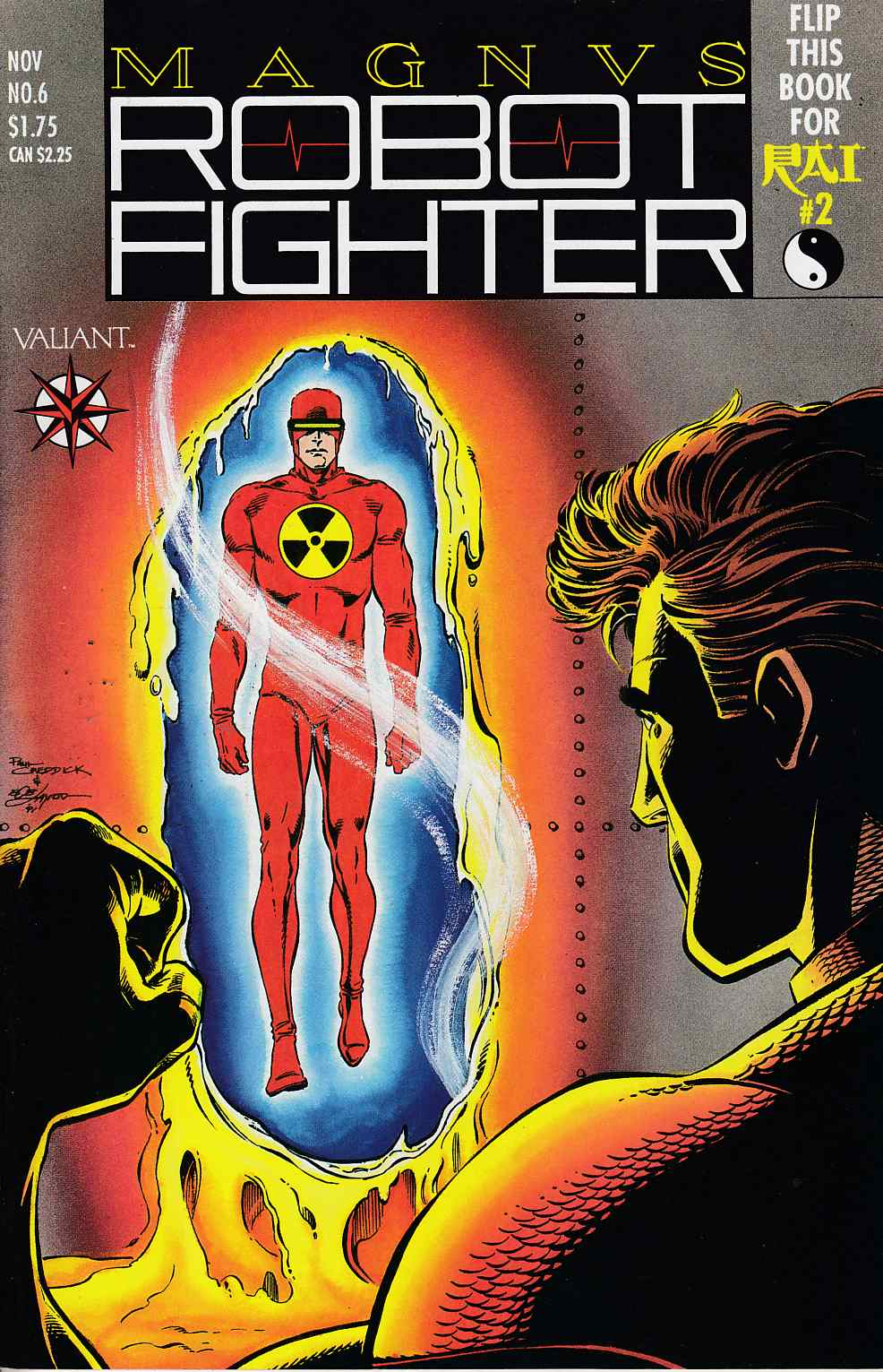 Magnus Robot Fighter #6 Very Fine Minus (7.5) [Valiant Comic] THUMBNAIL