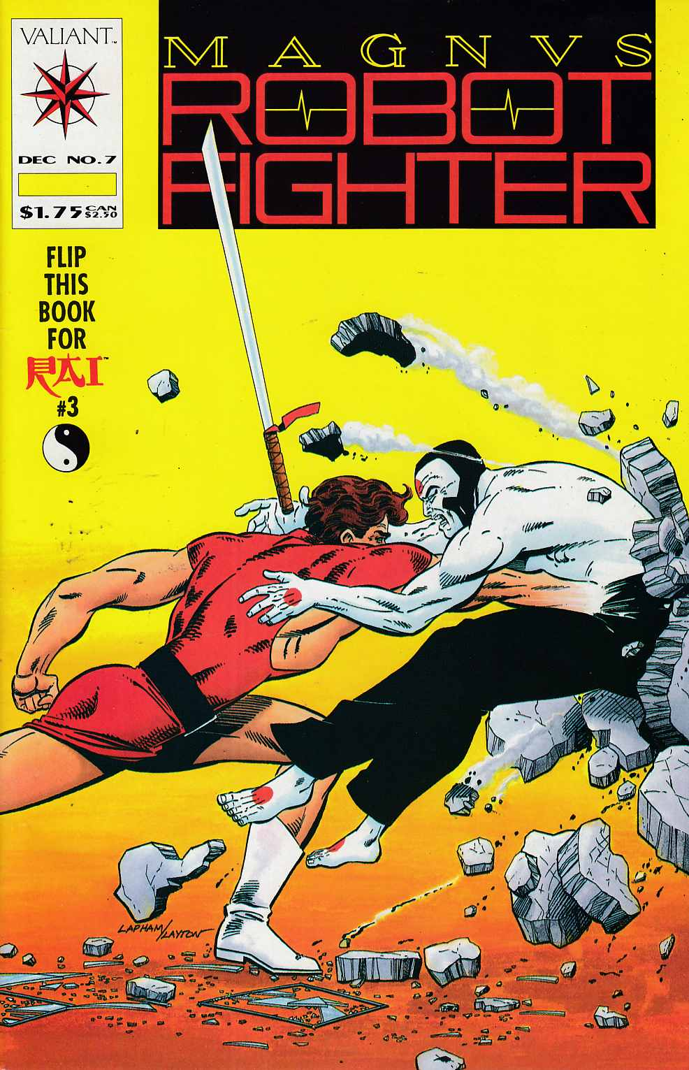 Magnus Robot Fighter #7 Very Fine (8.0) [Valiant Comic] THUMBNAIL