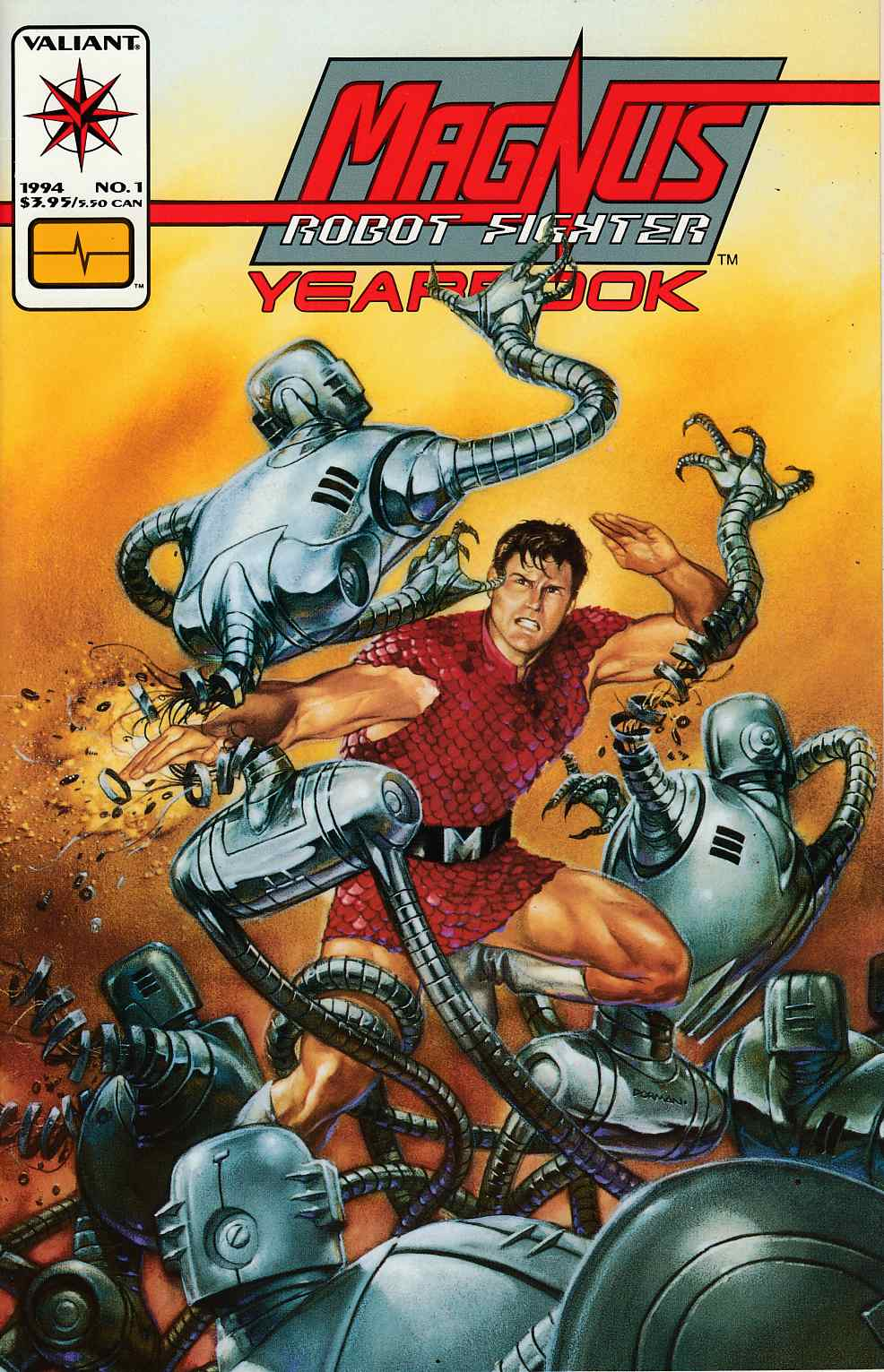 Magnus Robot Fighter Yearbook #1 Very Fine (8.0) [Valiant Comic] THUMBNAIL