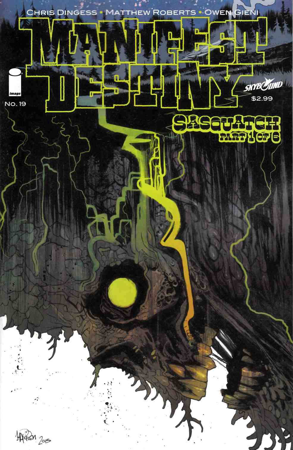 Manifest Destiny #19 Cover B [Image Comic]