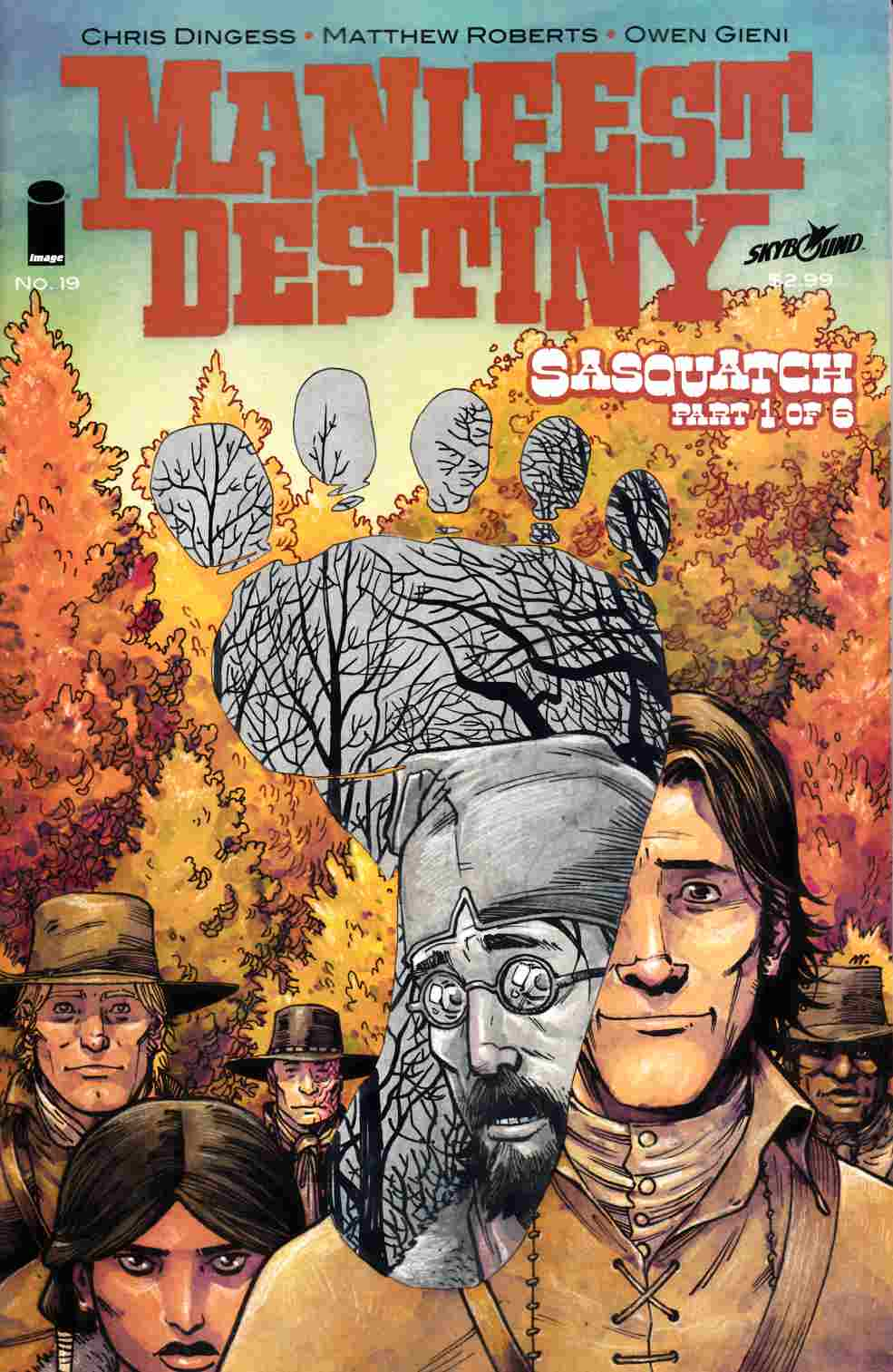 Manifest Destiny #19 Cover A [Image Comic]