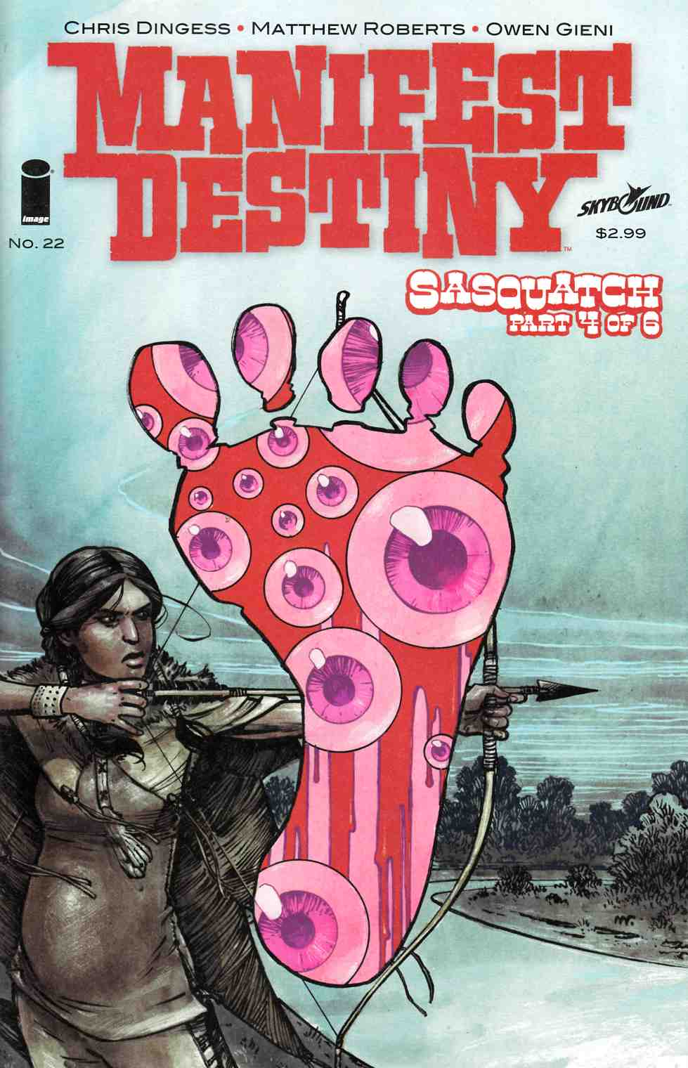 Manifest Destiny #22 [Image Comic] LARGE