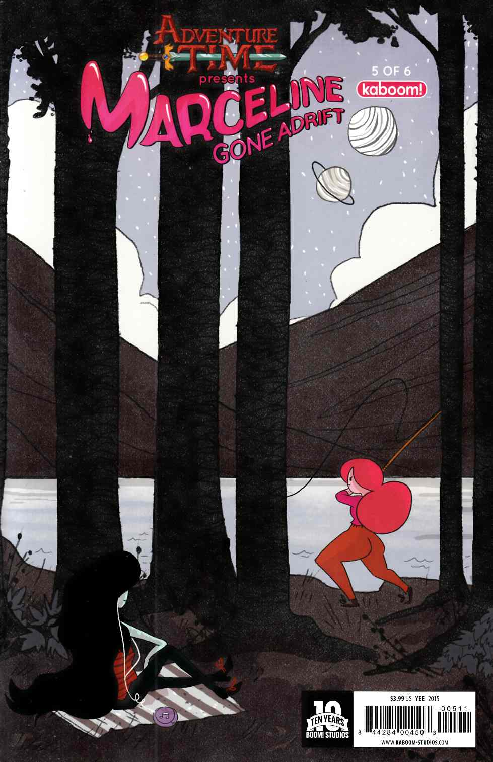 Adventure Time Marceline Gone Adrift #5 [Boom Comic] THUMBNAIL