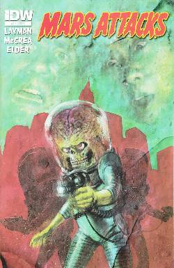 Mars Attacks #3 Cover RI- Gaydos Variant [Comic] LARGE