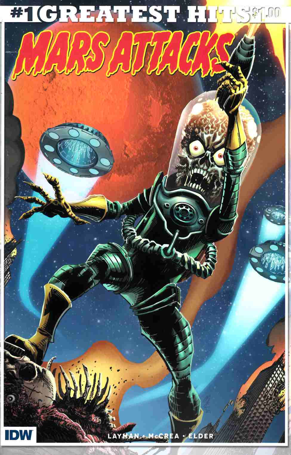 Mars Attacks #1 IDW Greatest Hits Edition [IDW Comic] THUMBNAIL