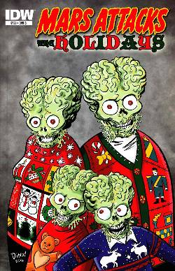 Mars Attacks Holidays (One Shot) Cover B [Comic] LARGE