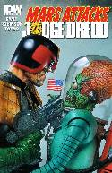Mars Attacks Kiss (One Shot) Cover RIA- Judge Dredd [Comic] THUMBNAIL