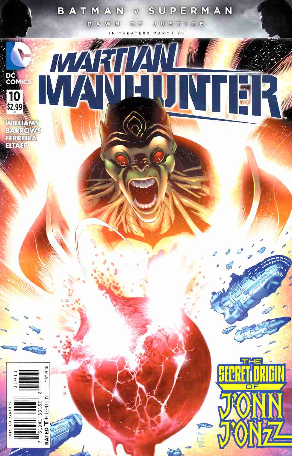 Martian Manhunter #10 [DC Comic] THUMBNAIL