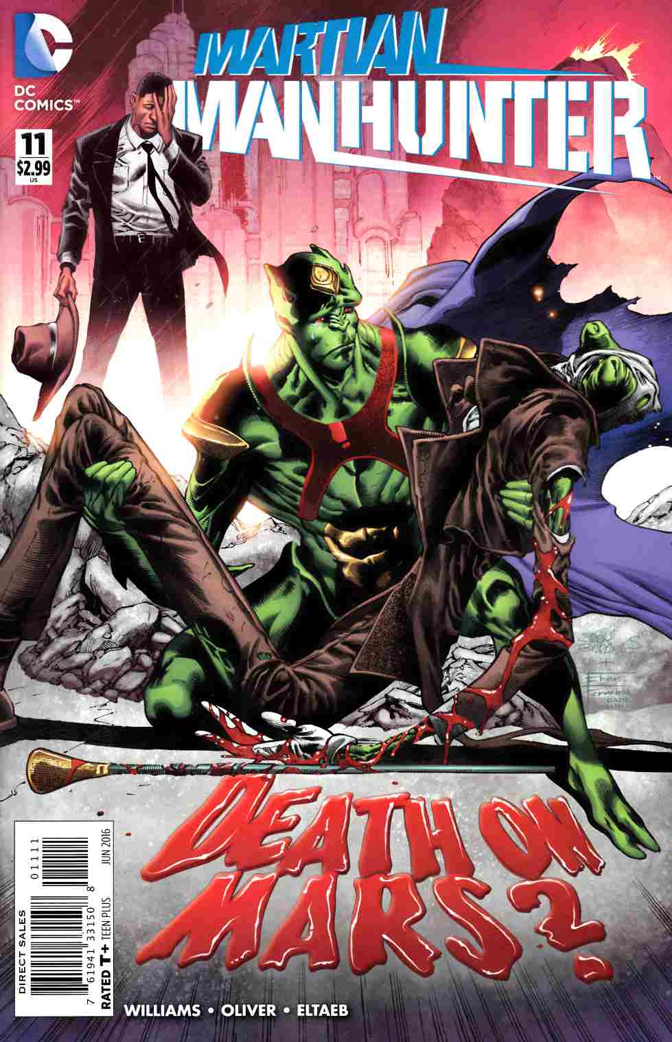 Martian Manhunter #11 [DC Comic] THUMBNAIL
