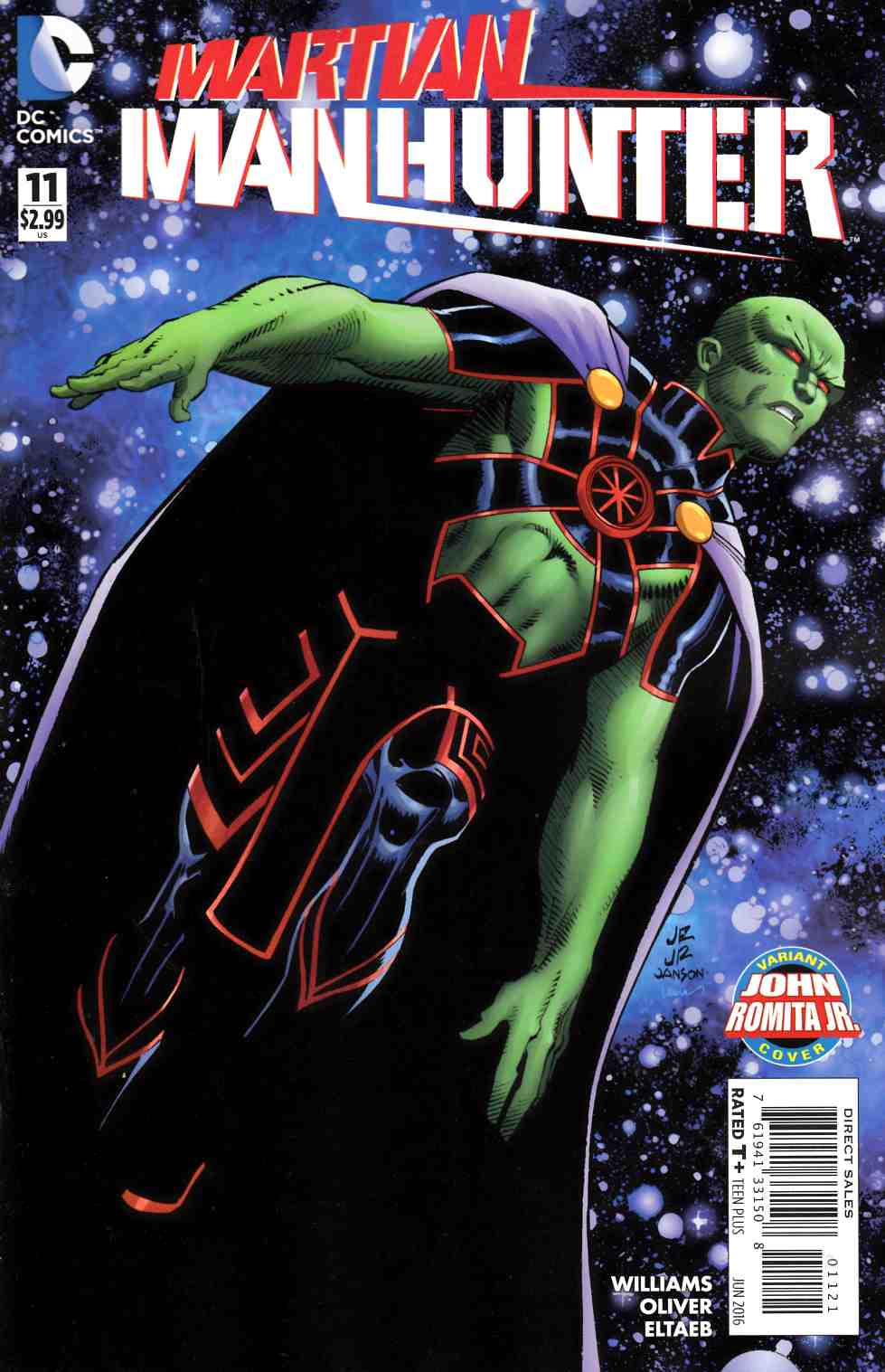 Martian Manhunter #11 Romita Variant Cover [DC Comic] THUMBNAIL