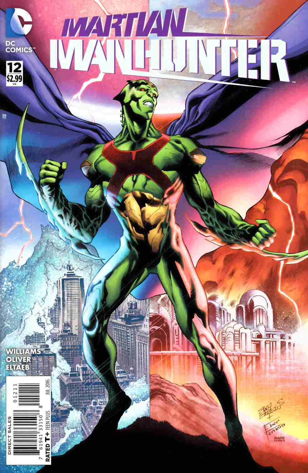 Martian Manhunter #12 [DC Comic] THUMBNAIL
