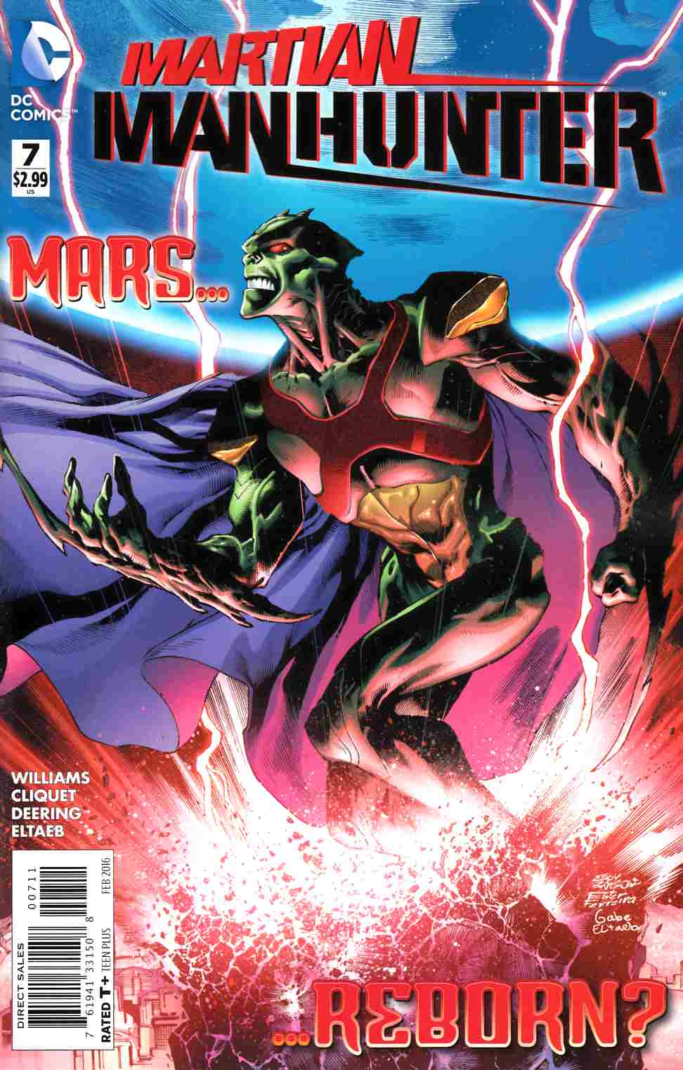 Martian Manhunter #7 [DC Comic] THUMBNAIL