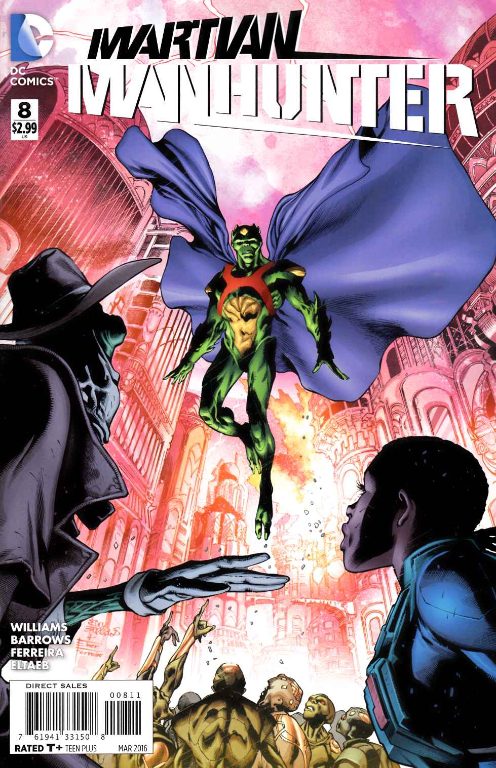 Martian Manhunter #8 [DC Comic] THUMBNAIL