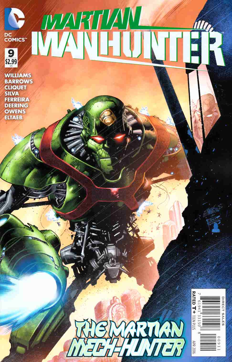 Martian Manhunter #9 [DC Comic] THUMBNAIL