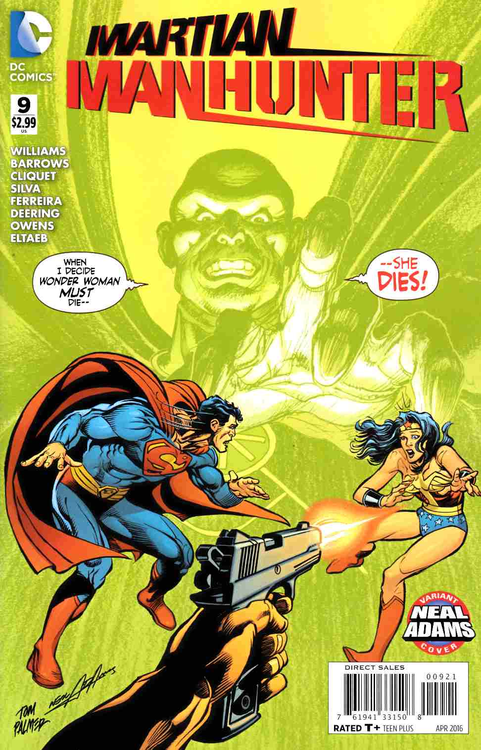 Martian Manhunter #9 Neal Adams Variant Cover [DC Comic] THUMBNAIL