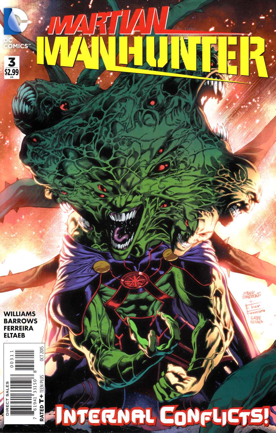 Martian Manhunter #3 [DC Comic] THUMBNAIL