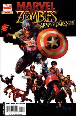 Marvel zombies: army of darkness #4 LARGE